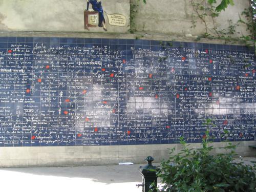 Muro de los te amo