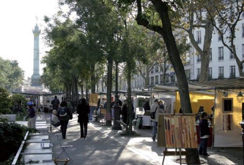 El Mercado de la Creación, arte en La Bastilla