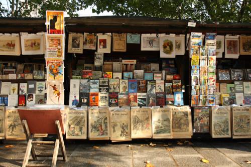 Donde habitan los libros Bouquiniste