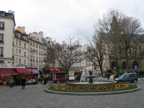 Calle Mouffetard en Paris