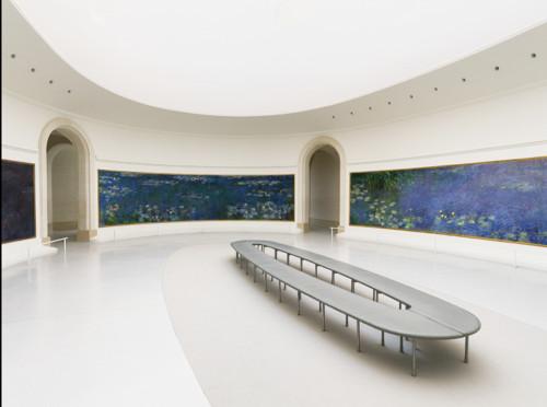 Sala Oval del Museo de l'Orangerie