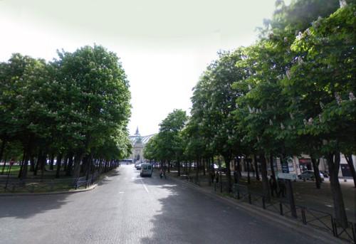Avenidas Gabriel y Marigny