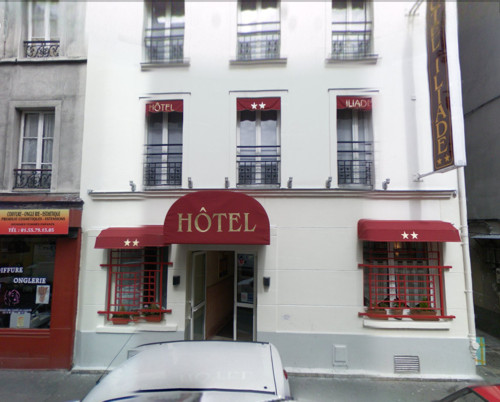 Iliade, hotel urbano en el distrito 18