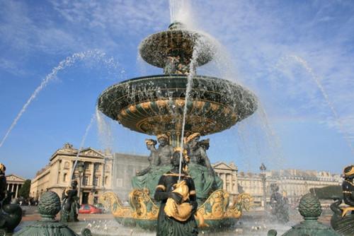 Concorde-Opera Garnier, caminata inolvidable
