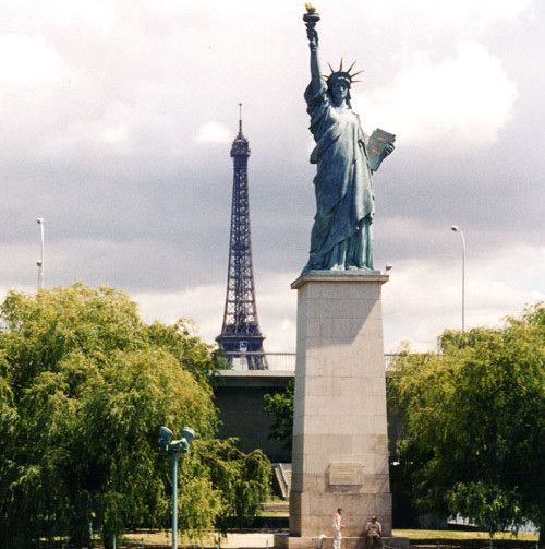 Estatua de la Libertad Paris