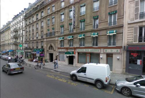 Hotel Des Arenes, en la villa romana de París