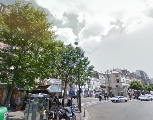 El mercado de la oliva en París