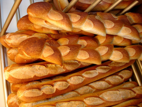"""La """"baguette"""", símbolo indiscutible de París"""