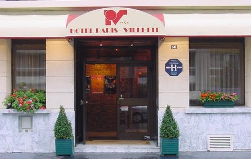 Hotel Paris Villette, en el distrito 19