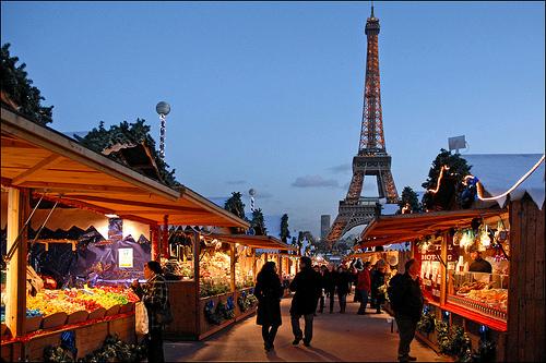 Mercadillos de Navidad en París