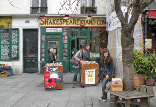 Shakespeare and Company, librería mítica de París