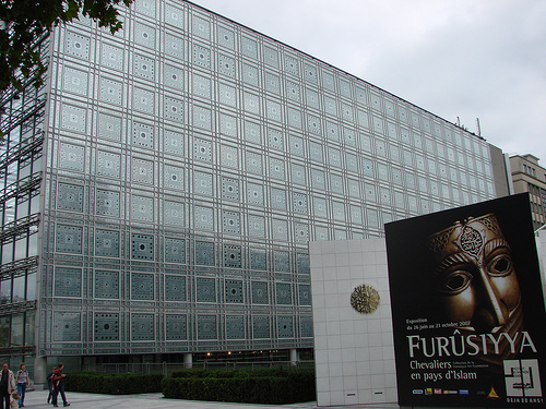 Instituto y Museo del Mundo Árabe, oriente en París