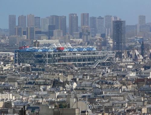 Guía para visitar el Centro Pompidou