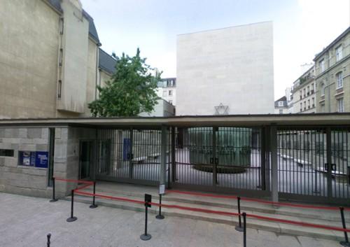 Memorial y Museo del Holocausto, en París