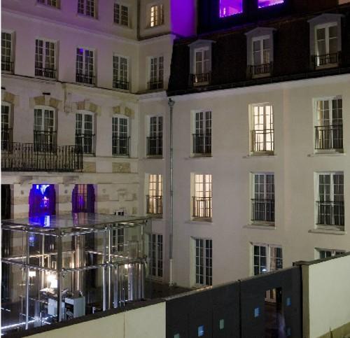 Kube, hotel tecnológico en Montmartre