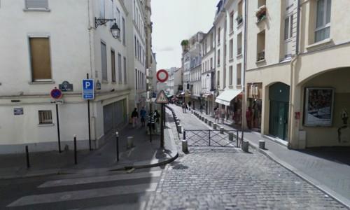 La Rue Mouffetard, animada peatonal de París