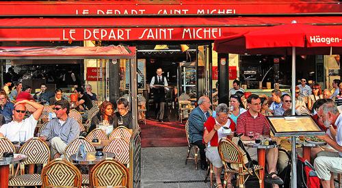 Los célebres cafés de París