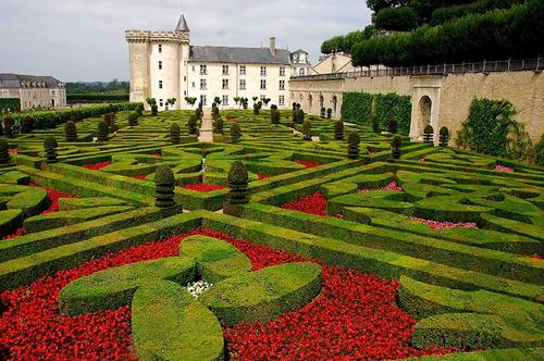 El jardín de Villandry