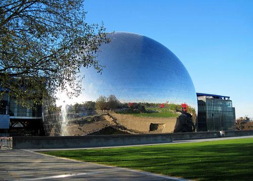 La ciudad de las ciencias de La Villette